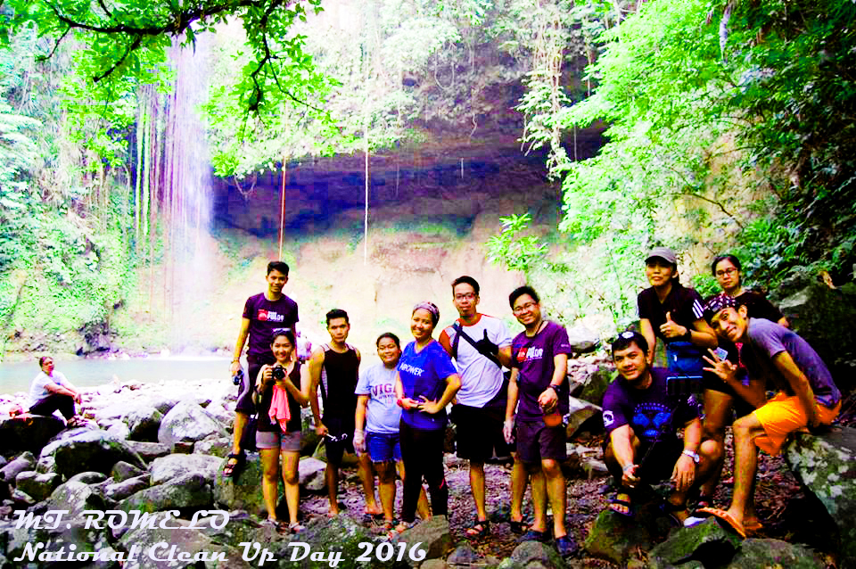 MT. ROMELO | National Clean Up Day 2016